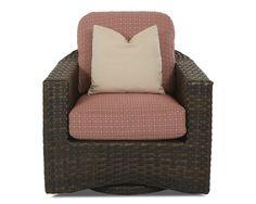 Klaussner Outdoor Outdoor/Patio Cassley Swivel Glider Chair W1100 SGC - Klaussner Outdoor - Asheboro, NC