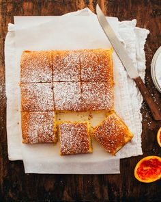 Portuguese Orange Cake is moist and fragrant, with the most alluring bright orange flavour. Food Cakes, Cupcake Cakes, Portuguese Desserts, Portuguese Recipes, Portuguese Food, Portuguese Sweet Bread, Best Cake Recipes, Sweet Recipes, Favorite Recipes
