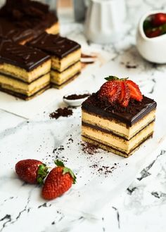Opera Cake - 15 Most Famous French Desserts | GleamItUp