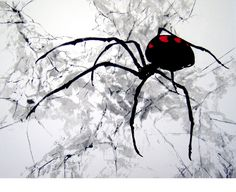 Black widow - by Kalpa Maclachlan, Netherlands