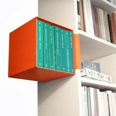 A clip-on shelf for your favorite books!