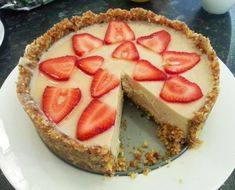 """Easy Raw Vegan Vanilla Lemon """"cheese"""" Cake Recipe on Best Home Chef: Enter your recipe now to win a kitchen worth $50,000!"""