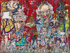 "Takashi Murakami ""Isle Of The Dead"" 2014"