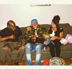 #Family Chris parents & Royalty ❤