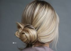 Elegant And Chic Hairstyles ❤ If you are looking for hairstyle for your wedding hair and bridesmaids styles. #lowbun #bridalhair #weddinghair #hairstyles #atlantahairstylist #updo #romantic #hairstyle #hairstyleideas   #bun #flowerbun #elegant  #hair #bride #bridal #bridalhair #wedding  #twist #specialoccasion  #promhair #homecominghair #hairtrends #bridesmaidupdo #chic