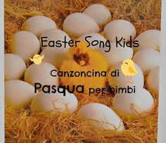 Easter Song Kids - eggs, easterbunny, colors. FUN! (and bilingual)