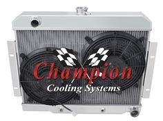 1985-1997 F-Series Champion Aluminum 4 Row Core KR Champion Radiator