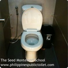 Philippines Public Toilet Chronicles: Public Toilet: The Seed Montessori School