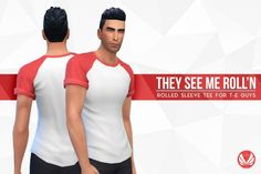 They See Me Roll'n Tees by Peacemaker ic at Simsational Designs • Sims 4 Updates