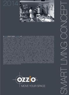 Ozzio smart living concept 2014 Catalogo mobiliario