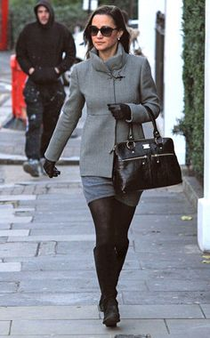 All Black Everything from Pippa Middleton's Best Looks   E! Online