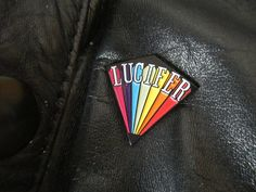 Lucifer Rising Inspired Enamel Pin | Kenneth Anger | Cult Film | Queer | Occult • An iconic image from the cult classic Lucifer Rising by Kenneth