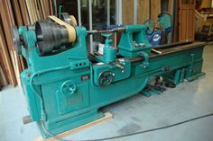 Photo Index - Oliver Machinery Co. - 66-AC Heavy Gap Lathe | VintageMachinery.org