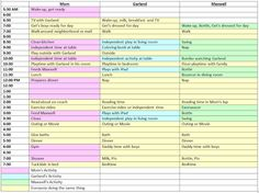 Toddler Daily Schedule Part 1 | Baby | Pinterest | Toddler daily ...