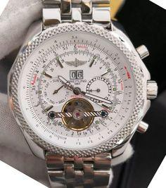 Relógio BREITLING™ BENTLEY MOTORS SPECIAL EDITION V2 – A25362 – White – Réplica Premium AAA+ Bentley Motors, Breitling Bentley, Watches, Woman Watches, Tumblr Outfits, Luxury, Clocks, Clock