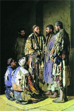Politicians in opium shop. Tashkent., 1870  Vasily Vereshchagin