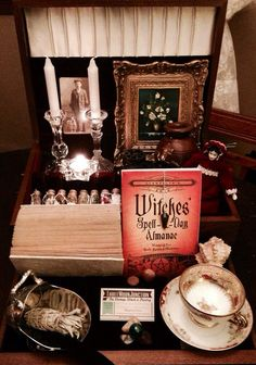Lady Isodora's Witch Box  Herbal Altar Kit by ThreeMoonJunction