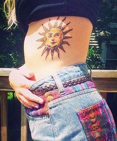 Sun Tattoo Designs 2016
