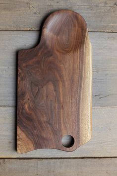 110. Extra Large Black Walnut Wood Handcrafted Cutting Board