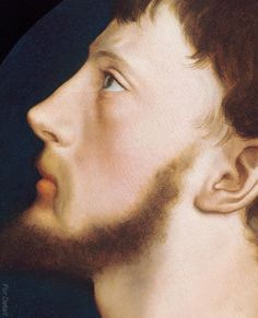 Hans Holbein the Younger (1497 - 1543) - Sir Thomas Wyatt the Younger (1521 - 1554) -  Oil on circular panel, Diameter 12 5/8 in. (32 cm.) - Painted circa 1540-42