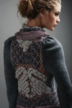 Grilla Sweater mix of textures