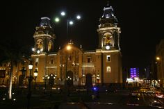 Basilica Cathedral of Lima, Peru - In  Plaza Mayor