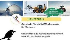 Unser neuer Landwirt.com Fotowettbewerb: Landtechnik im Winter! Jetzt mitmachen und ein Ski-Wochenende für 2 gewinnen! Winter, Movie Posters, Movies, Pictures, Tractors, Winter Time, 2016 Movies, Film Poster, Films
