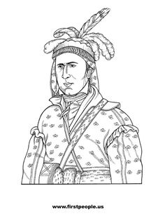 native american history coloring pages - photo#40