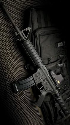 Rifles, Home Studio Setup, M4 Carbine, Armas Ninja, Weapon Storage, Assault Rifle, Military Weapons, Guns And Ammo, Shotgun