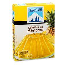 Gelatina sabor a Abacaxi Branca de Neve