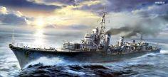 Destructor Shimakaze 1943
