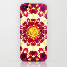 KLESHA II iPhone & iPod Skin by Chrisb Marquez - $15.00 Mandala Series #mandala #color #sense #art #cases #artcasefreaks #coque #iphone #design