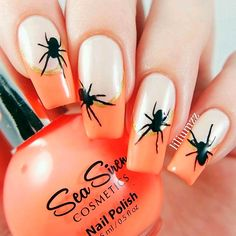 Spiders and Web for a Spooky Look of Your Nails picture 2