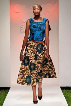 Mkomanile Craft @ Swahili Fashion Week 2014, Day 2 – Tanzania, Dar Es Salaam #SFW2014 | FashionGHANA.com (100% African Fashion)