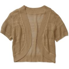 Faded Glory Women's Plus-Size Lightweight Sweater Shrug: Women's ...