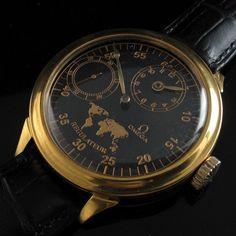 Mens GOLD 1914 OMEGA SWITZERLAND Vintage REGULATEUR Watch SPECTACULAR in Jewellery & Watches, Watches, Wristwatches   eBay
