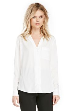 DAILYLOOK Bed Ready Blouse in White XS - L | DAILYLOOK