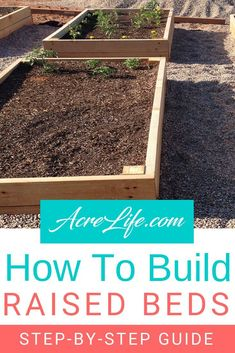 Building Raised Beds – Easy Step by Step Guide – Raised Garden Beds