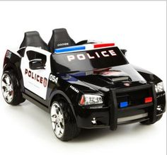 Walmart: Kid Trax Dodge Charger Police Cruiser Ride-On Kids Police Car, Police Gear, Toy Cars For Kids, Toys For Girls, Police Officer, Kids Toys, Police Baby, Police Truck, Police Family