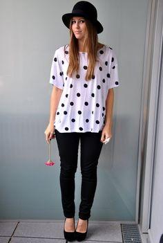 H & M Polka dot shirt