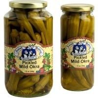 Amish Wedding Pickled Mild Okra