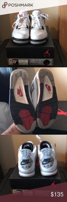 2c27db52d8450e Sneakers Air Jordan 4 s worn 1 time only🔥🔥🔥 Air Jordan Shoes Sneakers  Jordan
