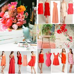 Love the Mix n' Match for bridesmaids!