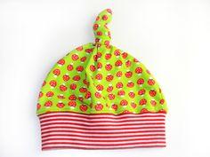 Mützen - BABY & KINDER Zipfelmütze ♥ GLÜCKSPILZ Lillestoff - ein Designerstück von kaktuskatja bei DaWanda