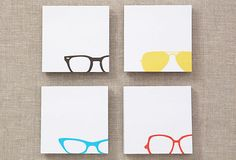 Spectacle Sticky Note Pads