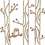 adorbs tree and owl embroidery