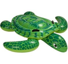Bored with your ordinary inflatable turtle pool floats? Get your hands on the Intex Sea Turtle Ride-On, an inflatable turtle that��s large and sturdy enough to seatl 2 children for that extra dose of fun! Children Swimming Pool, Swimming Pool Toys, Inflatable Pool Toys, Inflatable Float, Pool Rafts, Beach Toys, Water Toys, Ride On Toys, Thing 1
