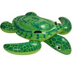 Grote Opblaasbare Schildpad (191x170cm) (Intex) #intex #zwembadspeelgoed #strandartikelen