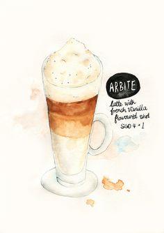 Arbite French Vanilla Latte by The Lily X, via Flickr