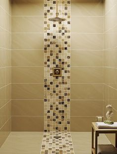 Bathroom tiles - mosaic shower tray - using your colors.